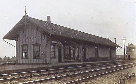 GTW Depot and Tower at Schoolcraft, MI